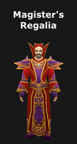 Magister's Regalia Set