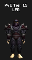 Rogue PvE Tier 15 LFR Set