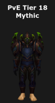 Rogue PvE Tier 18 Mythic Set
