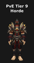 Rogue PvE Tier 9 Horde Set