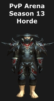 Rogue PvP Arena Season 13 Horde Set