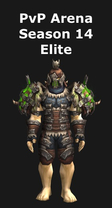 Rogue PvP Arena Season 14 Elite Set