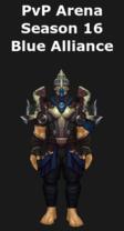 Rogue PvP Arena Season 16 Blue Alliance Set