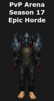 Rogue PvP Arena Season 17 Horde Set