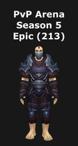 Rogue PvP Arena Season 5 Epic Set (213)