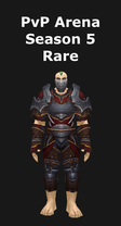 Rogue PvP Arena Season 5 Rare Set