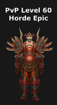 Rogue PvP Level 60 Horde Epic Set