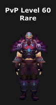 Rogue PvP Level 60 Alliance Rare Set