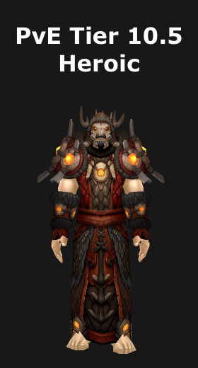 transmogrification shaman pve tier 10 sets wod 62