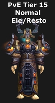 Shaman PvE Tier 15 Elemental/Restoration Set