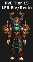 Shaman PvE Tier 15 LFR Elemental/Restoration Set