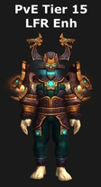 Shaman PvE Tier 15 LFR Enhancement Set