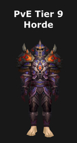 Shaman PvE Tier 9 Horde Set