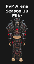 Shaman PvP Arena Season 10 Elite Set