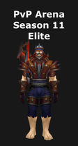 Shaman PvP Arena Season 11 Elite Set