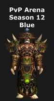 Shaman PvP Arena Season 12 Blue Set