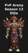 Shaman PvP Arena Season 12 Elite Set