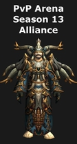 Shaman PvP Arena Season 13 Alliance Set