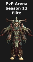 Shaman PvP Arena Season 13 Elite Set