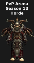 Shaman PvP Arena Season 13 Horde Set