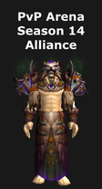 Shaman PvP Arena Season 14 Alliance Set