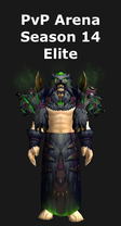 Shaman PvP Arena Season 14 Elite Set