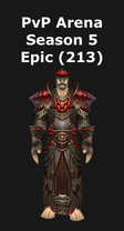 Shaman PvP Arena Season 5 Epic Set (213)