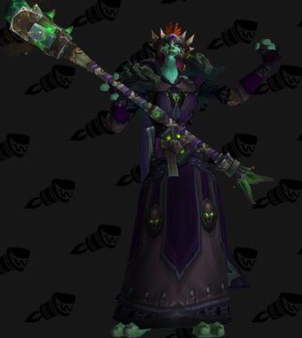 Fel Warlock Troll Cloth Transmog Legion 72 World Of Warcraft