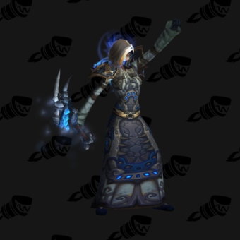 Mage in Blue Cloth Transmog