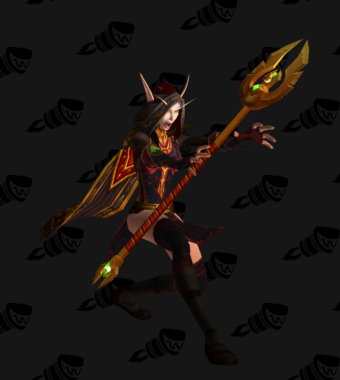 Silvermoon Priest Cloth Transmog