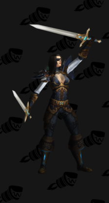 Elegant Rogue Leather Transmog