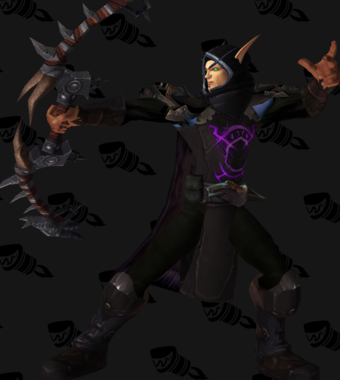 Dark Ranger Hunter Mail Transmog