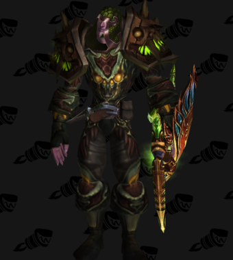 The Hunter in Green Mail Transmog