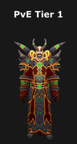 Warlock PvE Tier 1 Set