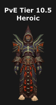 Warlock PvE Tier 10.5H Set