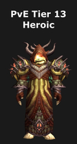 Warlock PvE Tier 13 Heroic Set