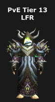 Warlock PvE Tier 13 LFR Set