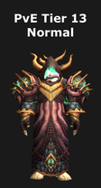 Warlock PvE Tier 13 Set