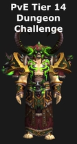Warlock Tier 14 Challenge Mode Set