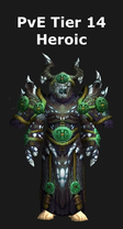 Warlock PvE Tier 14 Heroic Set