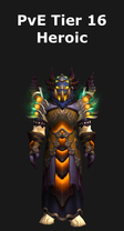 Warlock PvE Tier 16 Heroic Set