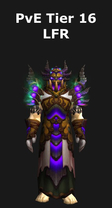 Warlock PvE Tier 16 LFR Set