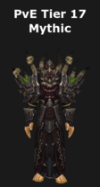 Warlock PvE Tier 17 Mythic Set