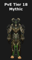 Warlock PvE Tier 18 Mythic Set
