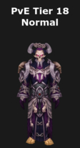 Warlock PvE Tier 18 Normal Set