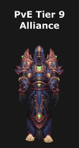 Warlock PvE Tier 9 Alliance Set