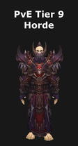 Warlock PvE Tier 9 Horde Set
