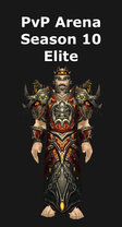 Warlock PvP Arena Season 10 Elite Set