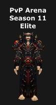 Warlock PvP Arena Season 11 Elite Set