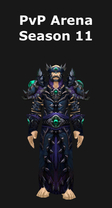 Warlock PvP Arena Season 11 Set